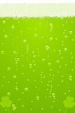 Vector green beer texture for St. Patricks Day Royalty Free Stock Photo