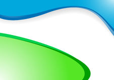 Vector green-blue background Royalty Free Stock Photo