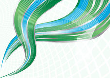 Vector green and blue background Stock Photo