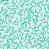 Vector green branches texture seamless pattern Stock Photos