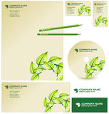 Vector GREEN business package Stock Images