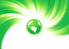 Vector green concept Royalty Free Stock Images
