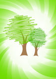 Vector green concept Royalty Free Stock Image