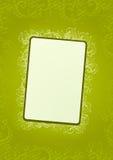 Vector green floral wallpaper. Vector light green floral wallpaper with soft halftone Stock Images