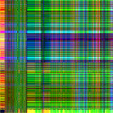 Vector green glitch background. Digital image data distortion. Interrupt signal.  Royalty Free Stock Image