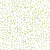 Vector green leaves explosion textile seamless Stock Photo