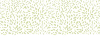 Vector green leaves explosion textile texture Royalty Free Stock Photos