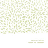 Vector green leaves explosion textile texture Stock Photos