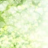 Vector green lights background. royalty free illustration