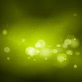 Vector green lights background stock illustration