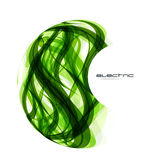 Vector green lines sphere design Royalty Free Stock Image