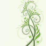 Vector green plant Stock Images
