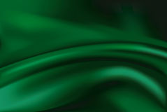 Vector of Green silk background Royalty Free Stock Image