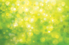 Vector green sunshine background. Royalty Free Stock Photography