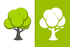 Vector Green Tree Stock Photos