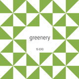 Vector greenery card. Royalty Free Stock Image