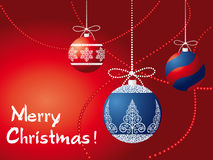 Vector greeting card Royalty Free Stock Image