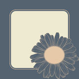 Vector greeting card. Royalty Free Stock Photos