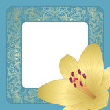 Vector greeting card. Royalty Free Stock Image