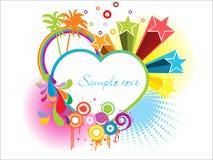 Vector-Greeting card Royalty Free Stock Image