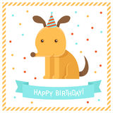 Vector greeting card Stock Photos