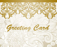Vector Greeting Card Royalty Free Stock Images