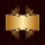 Vector greeting or invitation card. Stock Photography
