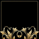 Vector greeting or invitation card. Royalty Free Stock Images