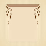 Vector greeting or invitation cards. Stock Photos