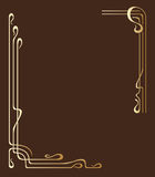 Vector greeting or invitation cards. Stock Photo