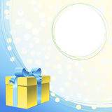 vector Greeting or invitation for holiday Stock Photos