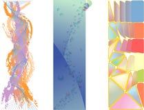 Vector grenzen royalty-vrije illustratie