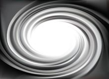 Vector grey backdrop of swirling texture Stock Photo