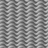 Vector grey background of abstract waves. Seamless pattern Royalty Free Stock Photo