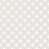 Vector grid seamless pattern. Subtle pastel geometric texture. Vector grid seamless pattern. Subtle geometric texture with circles, squares, perforated surface Stock Photography