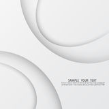 Vector grijze achtergrond met golvende lijnen Het licht en de schaduw abstracte achtergrond stock illustratie