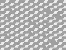 Vector grijze geometrische achtergrond Stock Foto's