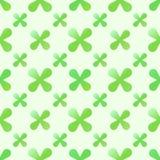 Vector groen creatief naadloos patroon royalty-vrije illustratie
