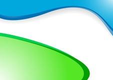 Vector groenachtig blauwe achtergrond Royalty-vrije Stock Foto