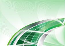 Vector groene abstracte achtergrond Royalty-vrije Stock Foto