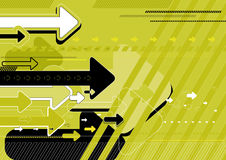 vector groene achtergrond Royalty-vrije Stock Afbeelding