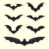 Vector group of bat royalty free stock images