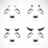 Vector group of cow Royalty Free Stock Photo