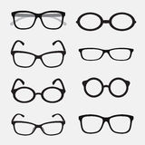 Vector group of an Glasses Royalty Free Stock Image