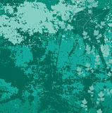 Vector grunge background in green Royalty Free Stock Images