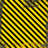 Vector grunge background with yellow stripes Stock Photos
