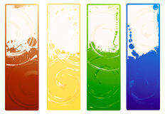 Vector grunge banners Stock Photo