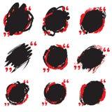 Vector grunge circle set. Grunge round shape for logos, banners, promotion, photo overlay.  stock illustration