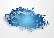 Vector grunge cloud background Royalty Free Stock Photo