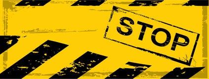 Vector grunge danger banner Stock Images